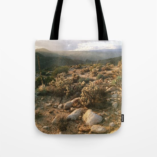 Borrego Desert Sunset Tote Bag