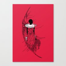 The Lioness Warrior Canvas Print