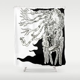 The Mother of Fear Shower Curtain