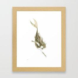 Mermaid III Framed Art Print