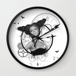 Angel of Small Deaths Wall Clock