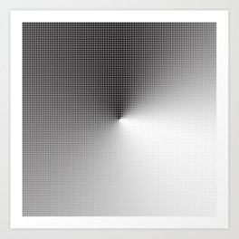 Illusion cube 4 Art Print