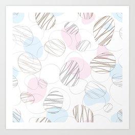 seamless pattern abstract Art Print