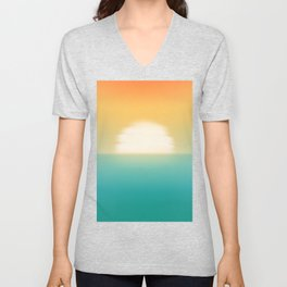 Into the horizon Unisex V-Neck