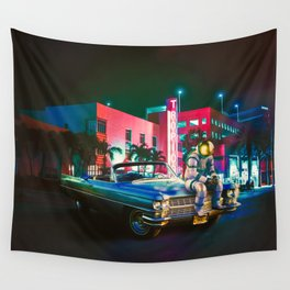The Night Rider Wall Tapestry