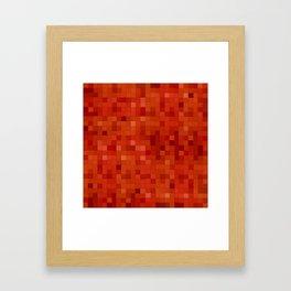 Lemonade mosaic Framed Art Print