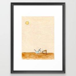 Neutron, Hitched. Framed Art Print
