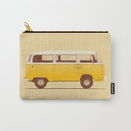 Van - Yellow Carry-All Pouch