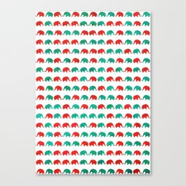 Elephants  Canvas Print