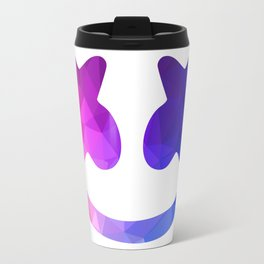 marshmello face Travel Mug