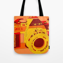 Canon Rebel Camera - Retro Tote Bag
