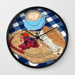 Best Waffles in Town Wall Clock