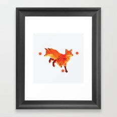 Keep the Fire Framed Art Print
