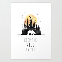 Keep Art Print