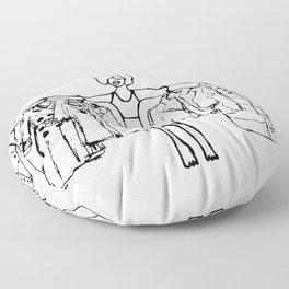 Guilty Pleasure Floor Pillow