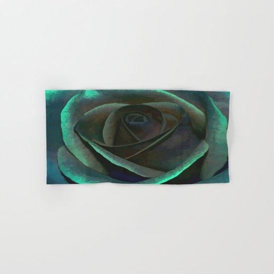 Northern Lights Rose Hand & Bath Towel
