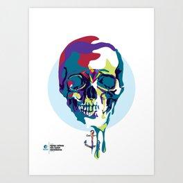 mares calmos não fazem marinheiros_zero um Art Print