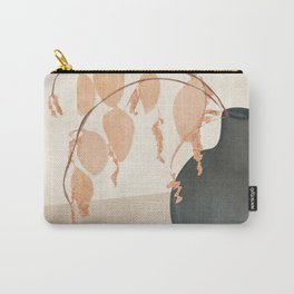 Branches in the Vase Carry-All Pouch