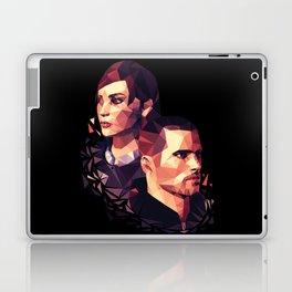 Facets of Shepard Laptop & iPad Skin