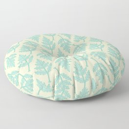 Garden Parsley Leaf Pattern Floor Pillow