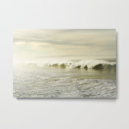 Pismo Waves Metal Print