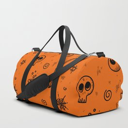 Halloween symbols seamless pattern Duffle Bag