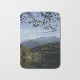 Hechtsee in the Brandenberger Alps, Tirol, color photo Bath Mat