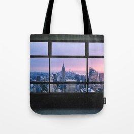 New York City Skyline Views Tote Bag