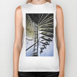 Lighthouse tower stairs Biker Tank