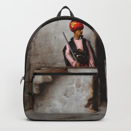 Jean-Leon Gerome - The Guard - Digital Remastered Edition Backpack