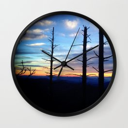 Great Smoky Mountains Wall Clock
