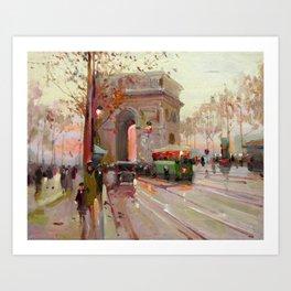 Triumphal arch Art Print