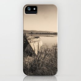 The Old Fishing Boats iPhone Case