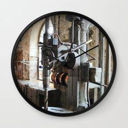 Heavy Industry - Drilling Machine Wall Clock