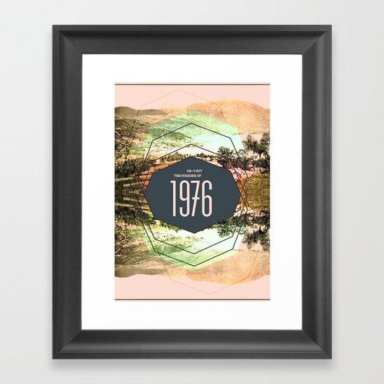 Summer of 1976 Framed Art Print