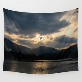 Shining Eye on the Sky Wall Tapestry