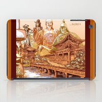 korean iPad Cases featuring Korean Travels by Lundy