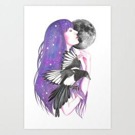 Moonshadow Art Print