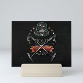 polo black label Mini Art Print