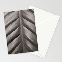 Peace Lily Leaf B/W 2 Stationery Cards