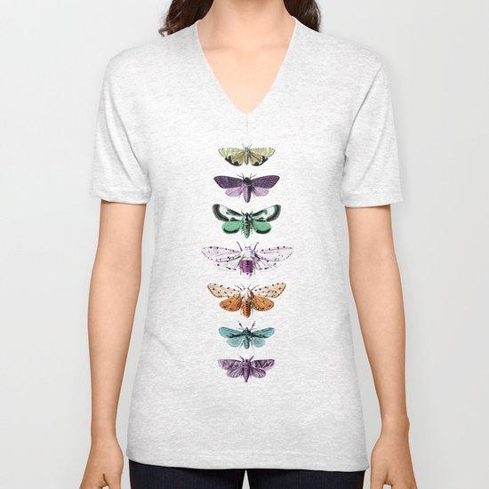 Techno-Moth Collection Unisex V-Neck