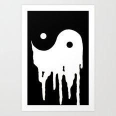 Out of Balance Invert Art Print