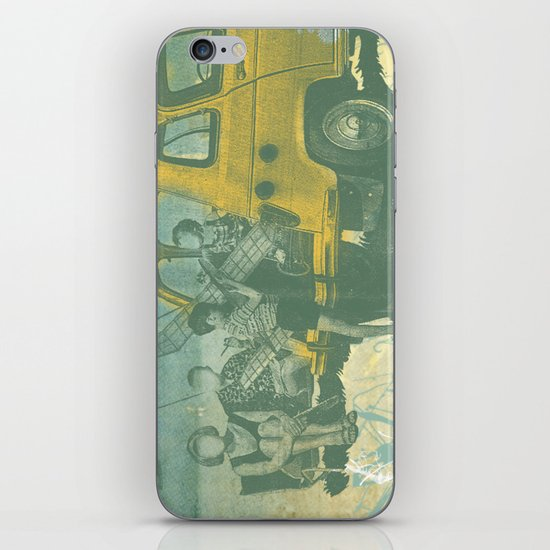 when i was young _ model planes and station wagons iPhone & iPod Skin