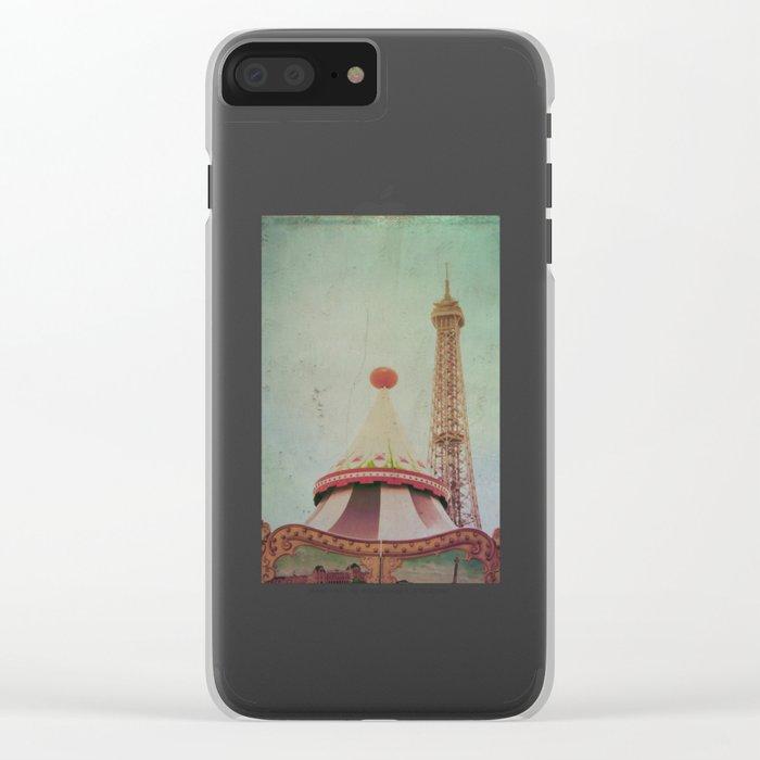 Bohemia of Paris Clear iPhone Case