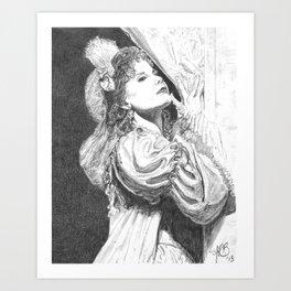 Opera Art Print