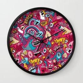 Sad Donut, Jerk  Wall Clock
