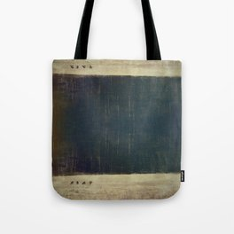 Above and below our sea of trees Tote Bag