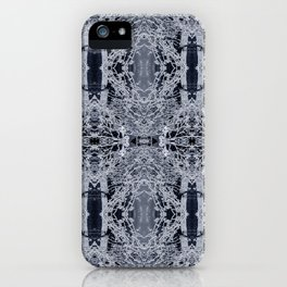 Icy branched iPhone Case