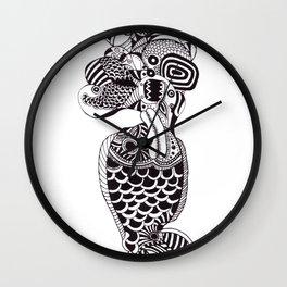 Fish Can Talk  Wall Clock
