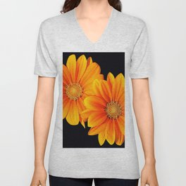Two flowers Unisex V-Neck